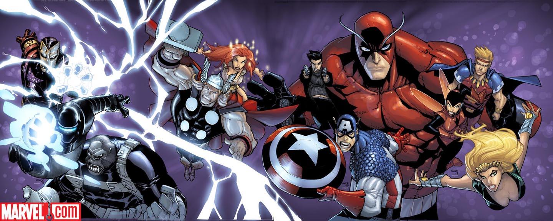 Vengadores y Agentes de Atlas condenados a poster Avengersatlas