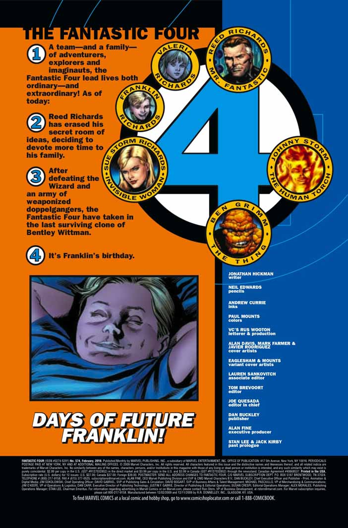 Fantastic Four #574  (Preview) Fantasticfour5744