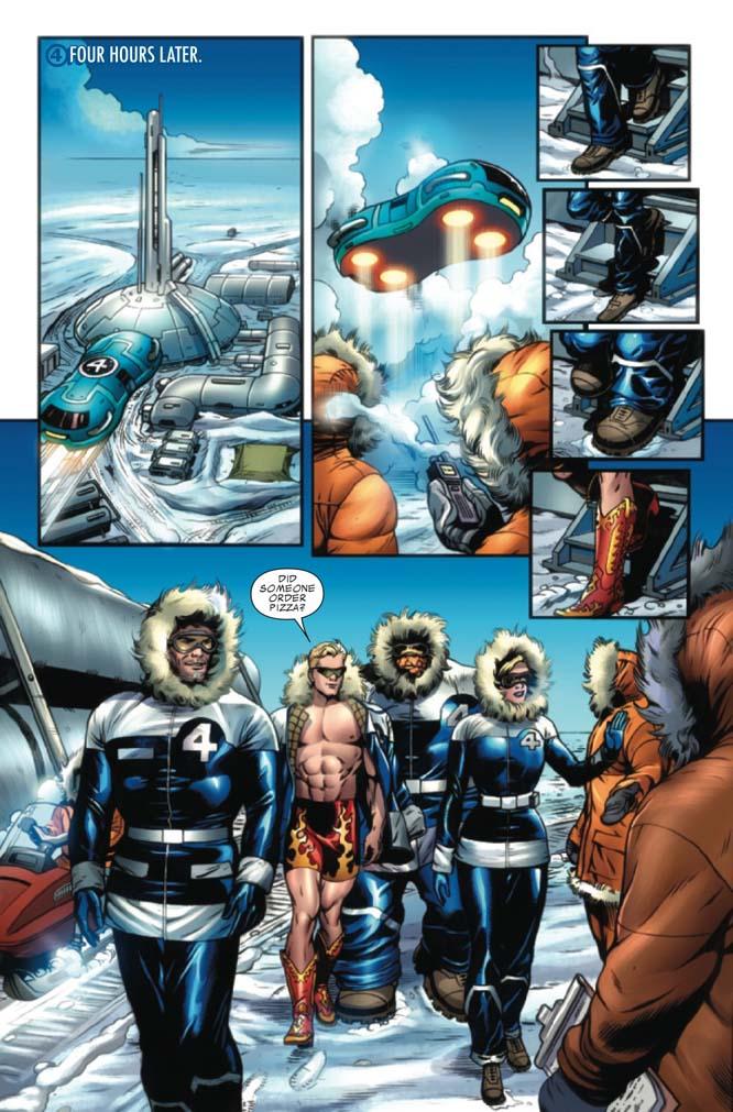 Fantastic Four # 576 (preview) Ff5766