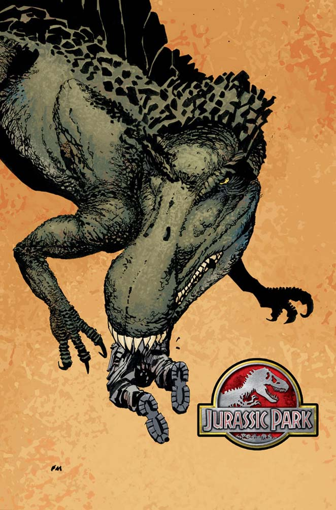 Jurassic Park: Redemption [Dark Horse] Jurassicpark1