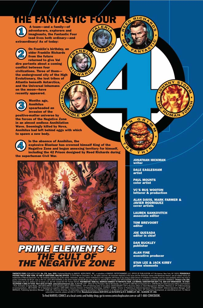 Fantastic Four # 578 (preview) Ff5781