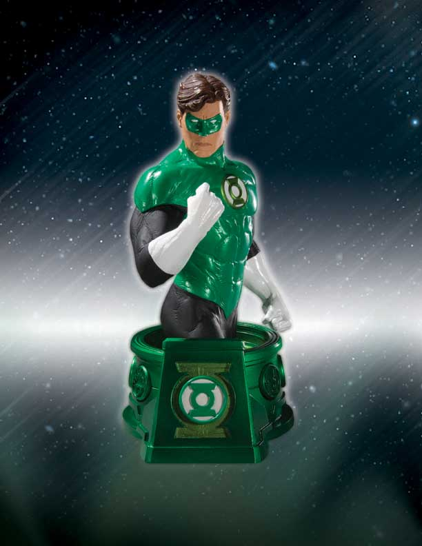 New Dc Direct Green Lantern Blackest Night Bust The Green Lantern