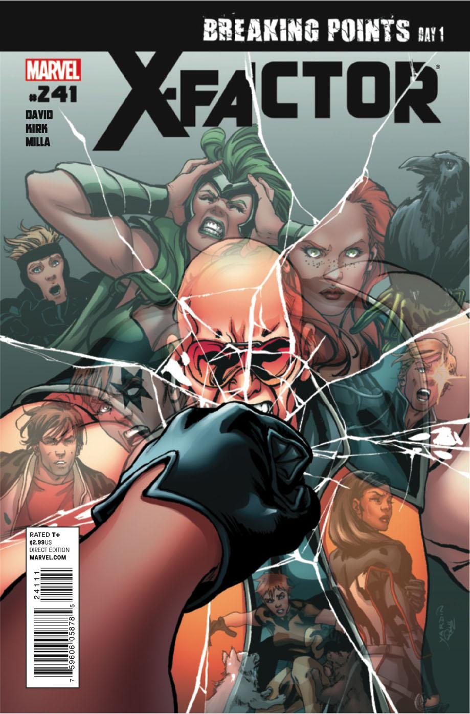 X-Factor # 241 (preview) Xfactor241c