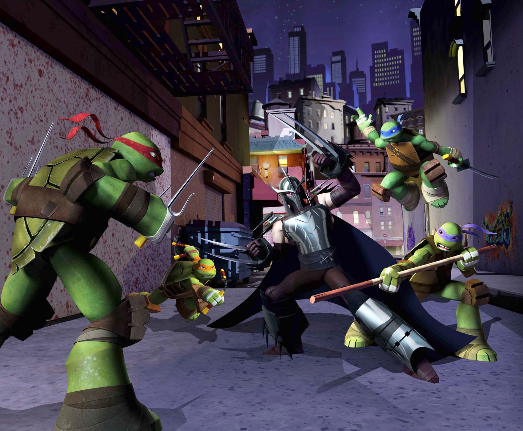 Turtles New Tmnt Cartoon 2012