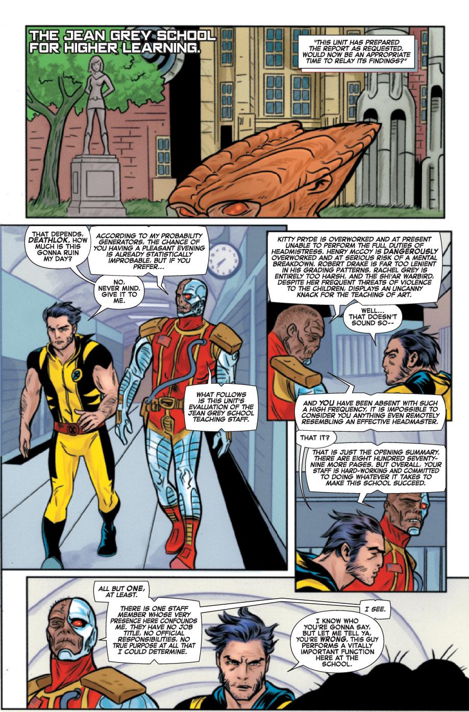 Wolverine & the x-men # 17 Wolverinexmen171