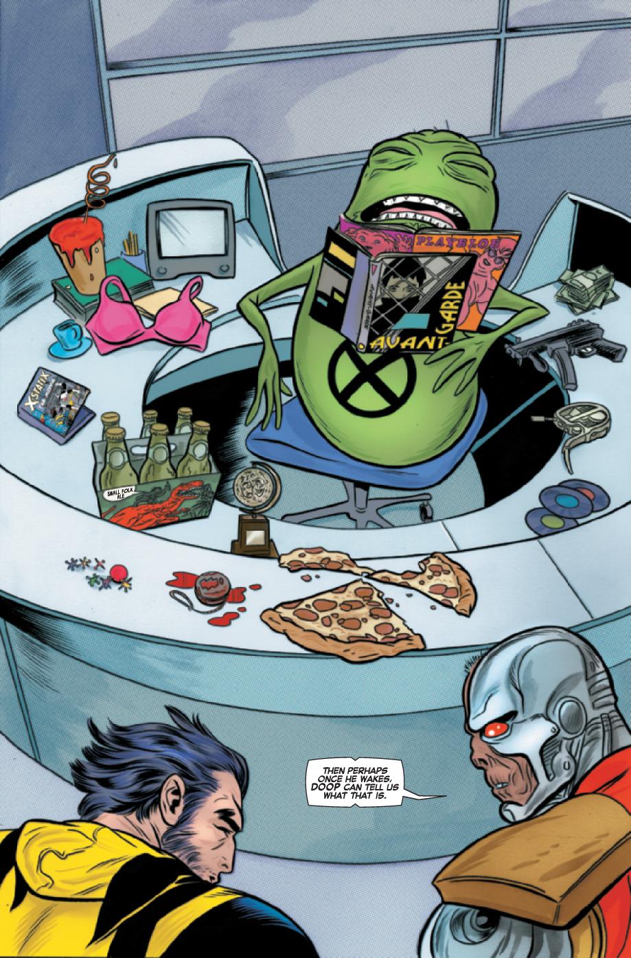 Wolverine & the x-men # 17 Wolverinexmen172