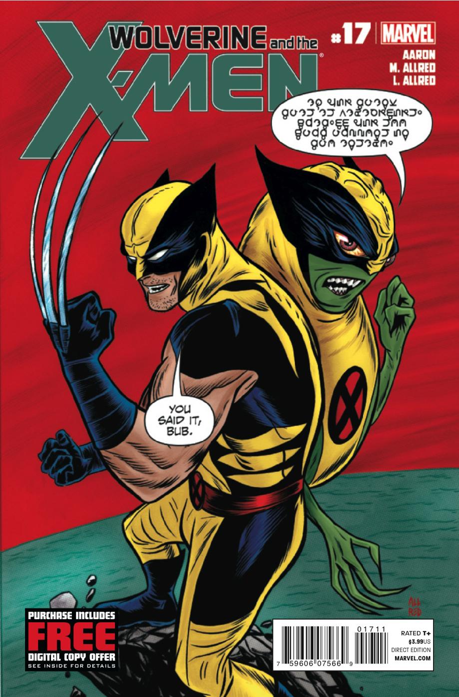 Wolverine & the x-men # 17 Wolverinexmen17c