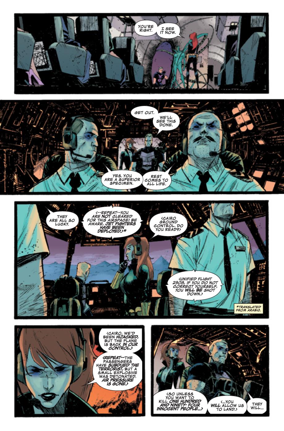 Secrets Avengers 32 (preview) Secretavengers323