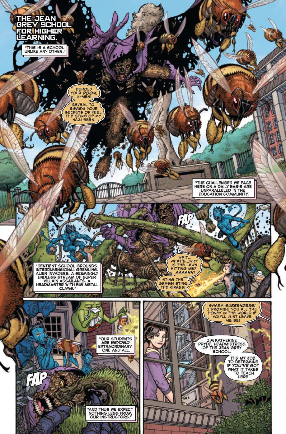 Wolverine and the X-Men # 19 Wolverinexmen192