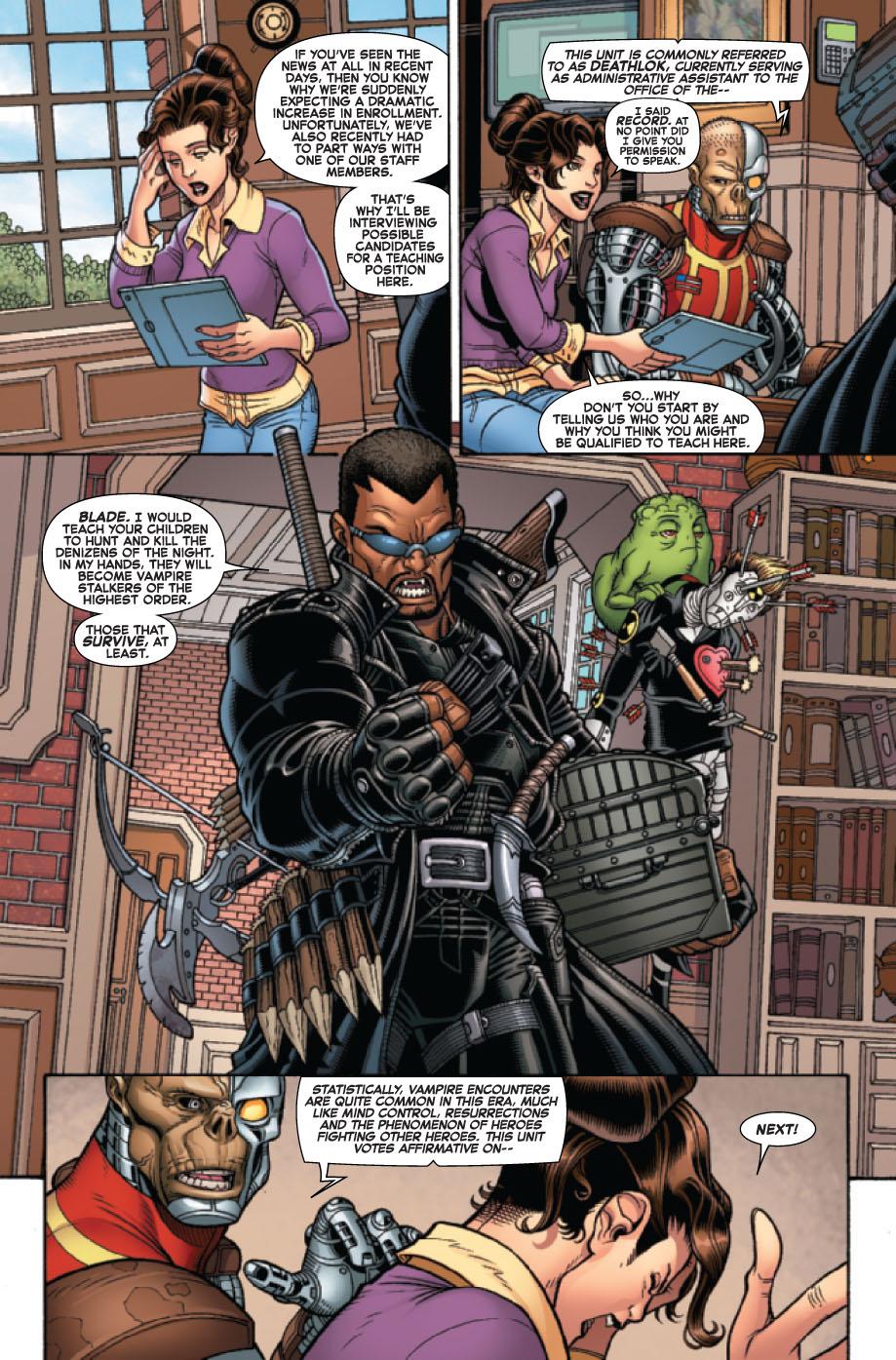 Wolverine and the X-Men # 19 Wolverinexmen193