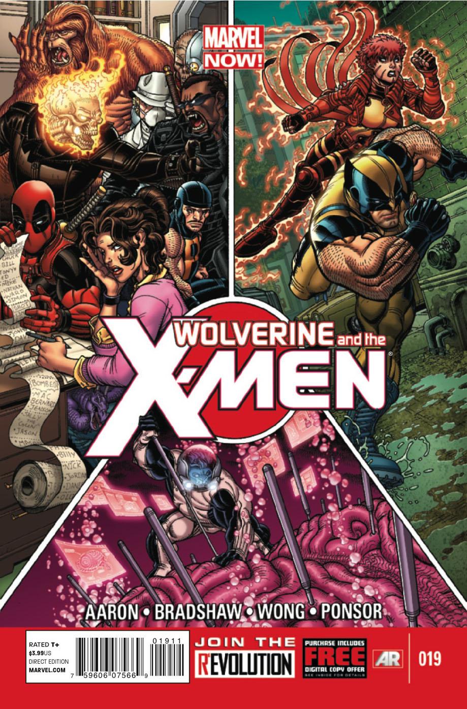 Wolverine and the X-Men # 19 Wolverinexmen19c