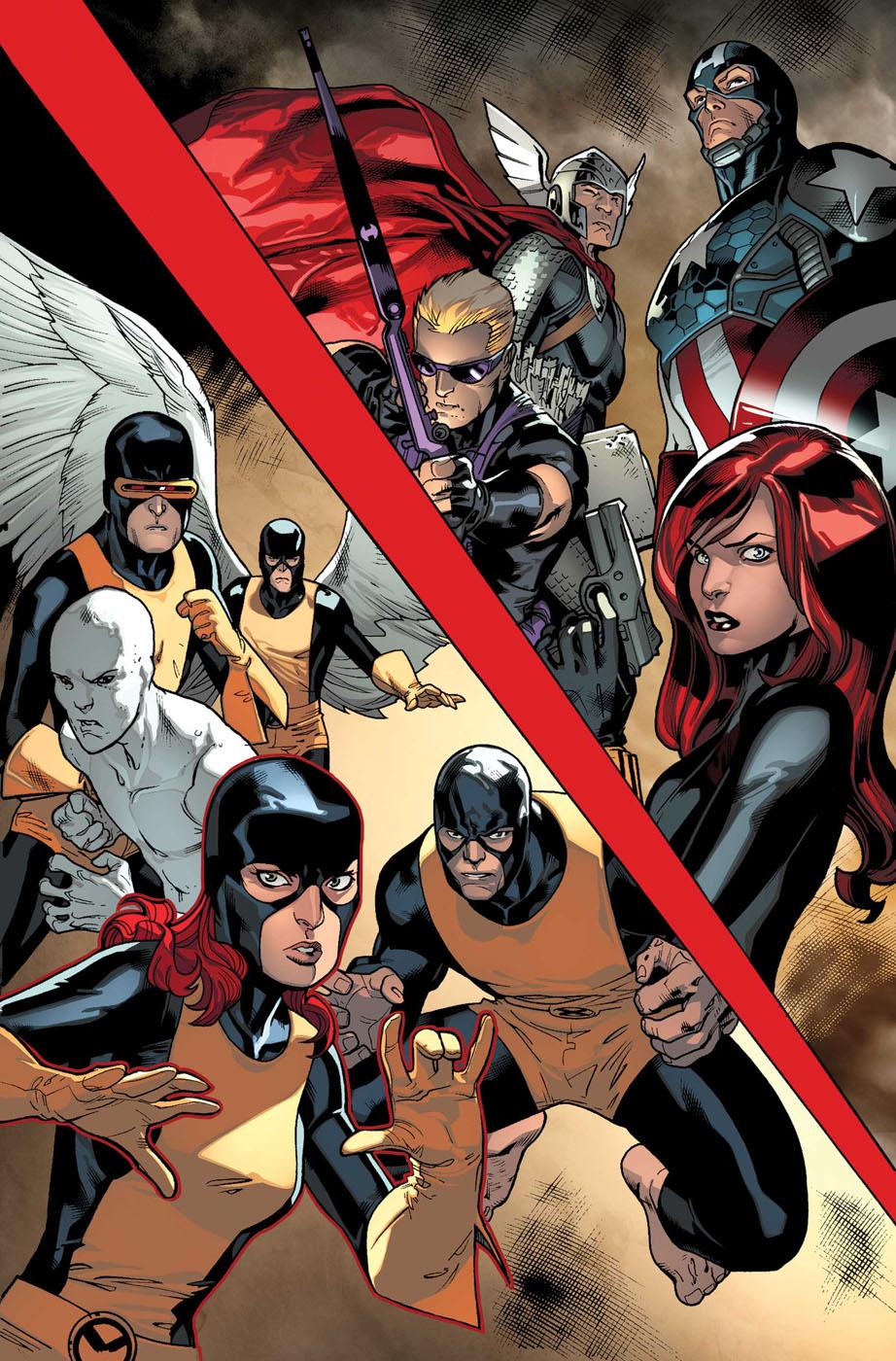 All New X-Men # 8 Allnewxmen8