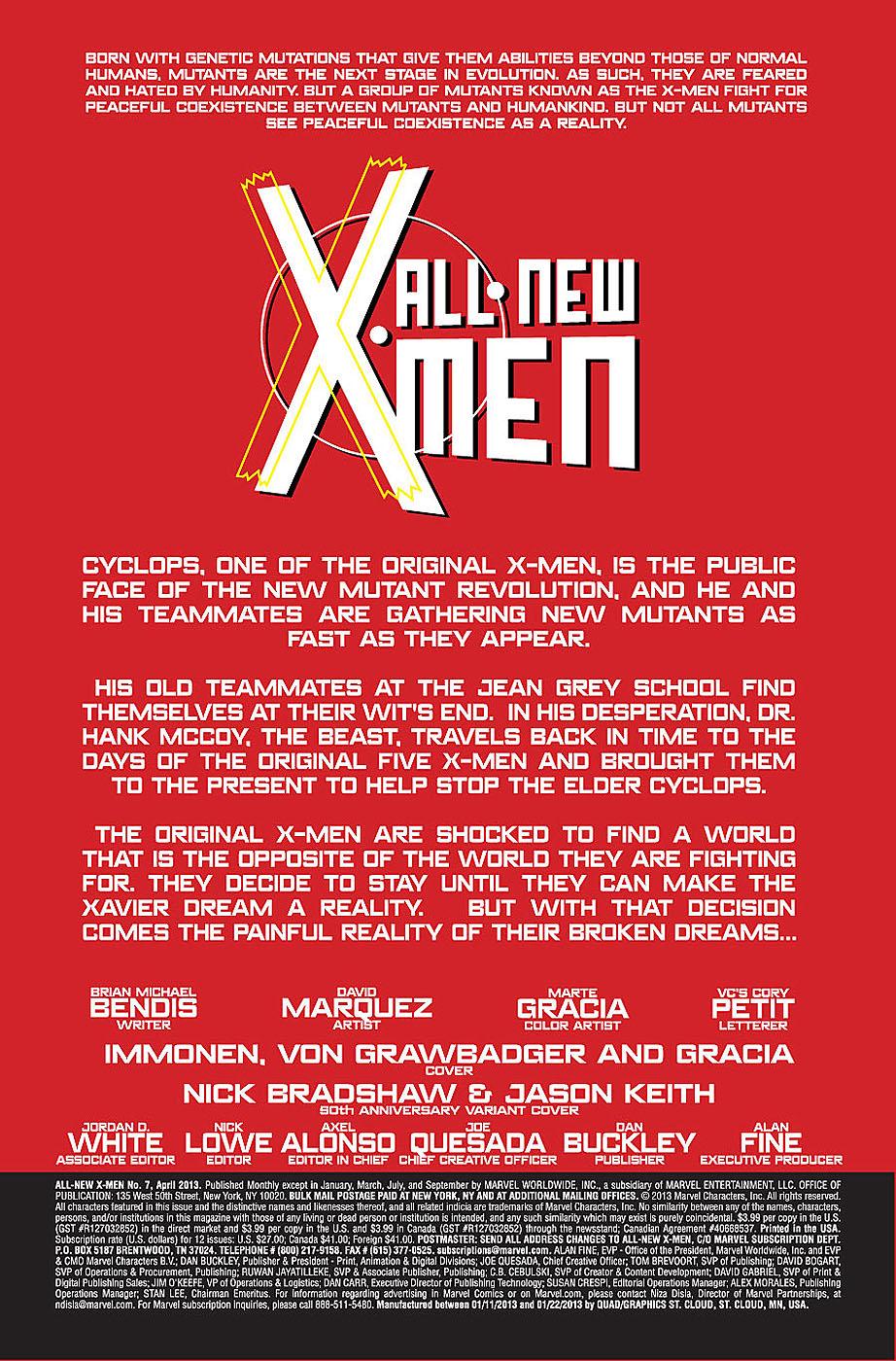 All New X-Men # 7 Allnewxmen71