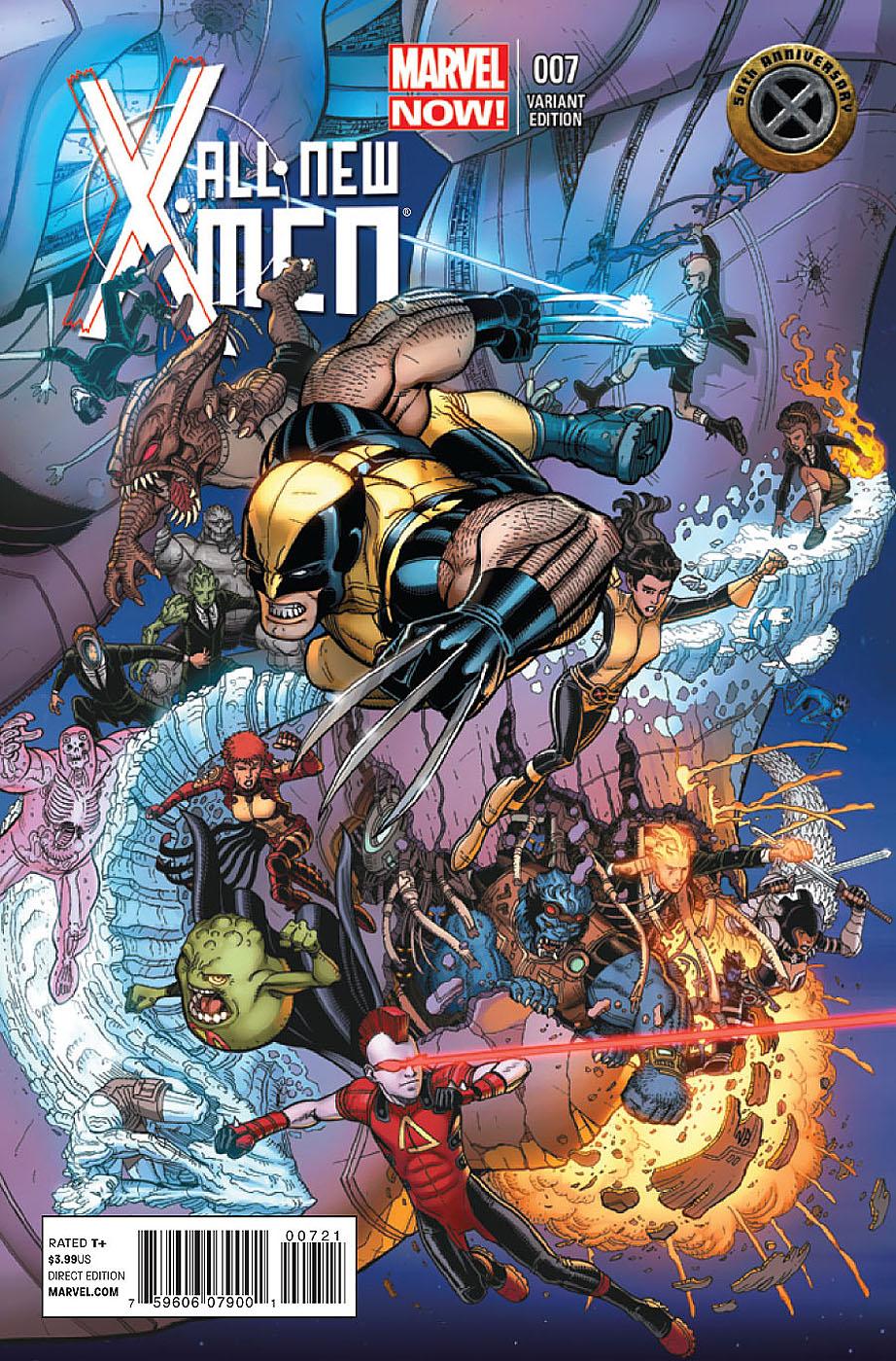 All New X-Men # 7 Allnewxmen7b