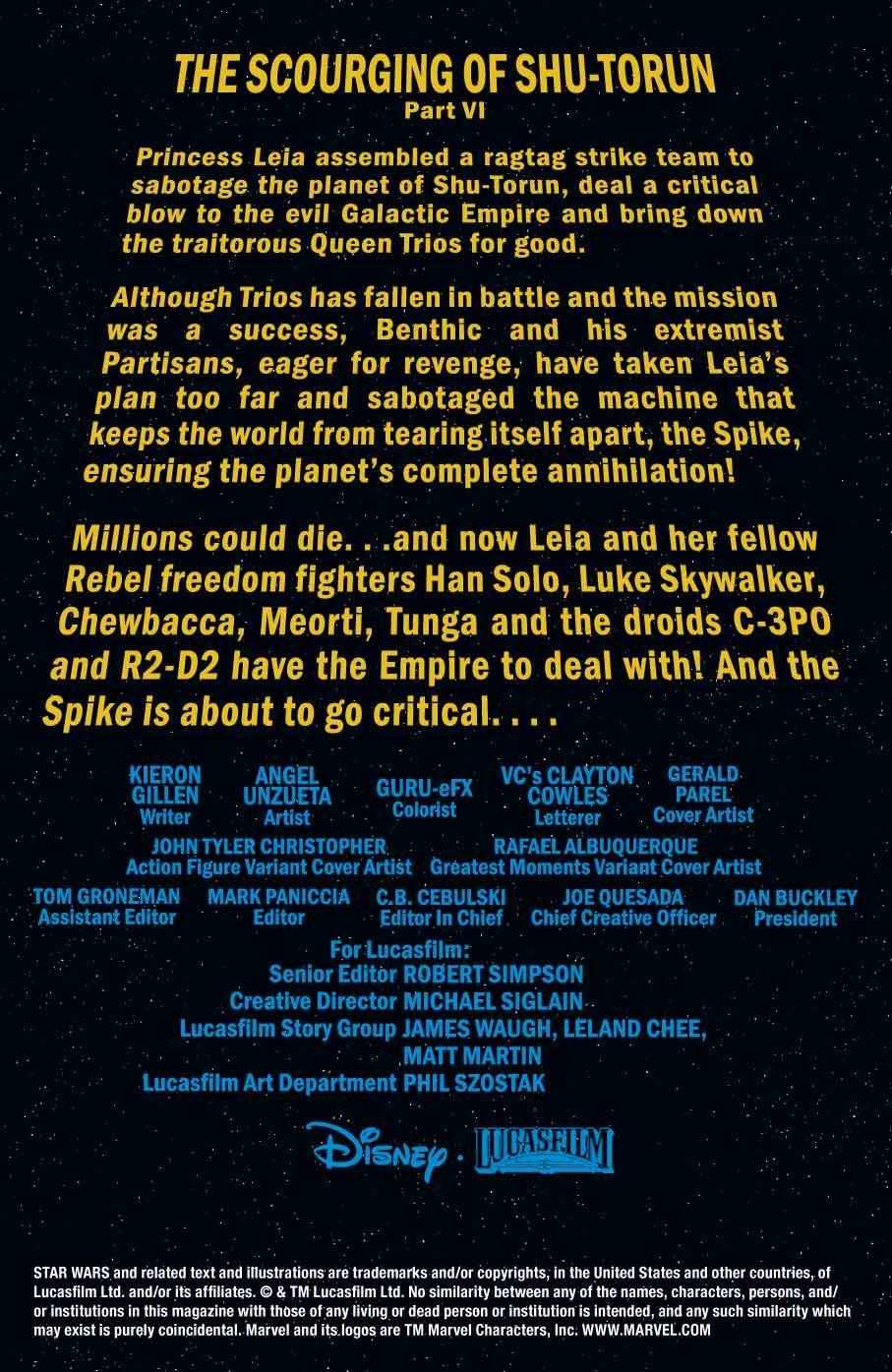 COMICS CONTINUUM / Marvel Comics First Looks: Star Wars #67